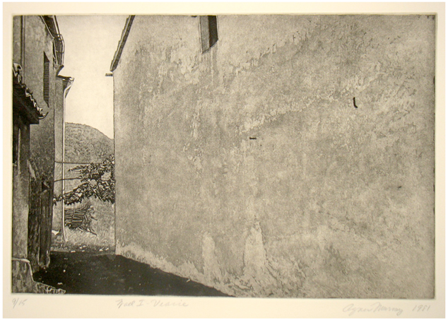 Wall, Viacce - Aquatint72